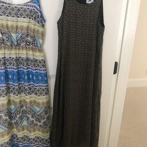 2 Xtra Small Maxi Dress Bundle